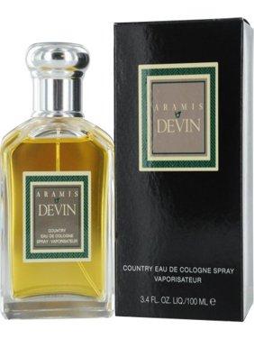 Devin by Aramis,Country Eau De Cologne Spray, 3.4 Ounce