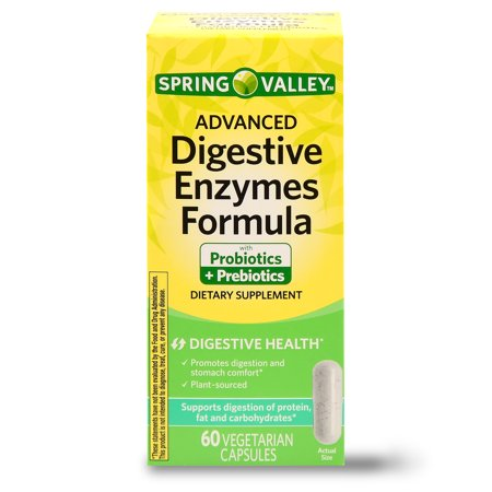 Spring Valley Advanced Digestive Enzymes, 60 Ct