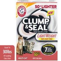 Arm & Hammer Clump & Seal Lightweight Litter, Multi-Cat, 15lb