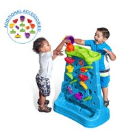 Step2 Waterfall Discovery Wall, 13-piece accessory set included