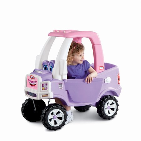 - Little Tikes Princess Cozy Truck Ride-On