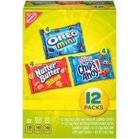 (2 Pack) Nabisco Munch Packs, 12 oz