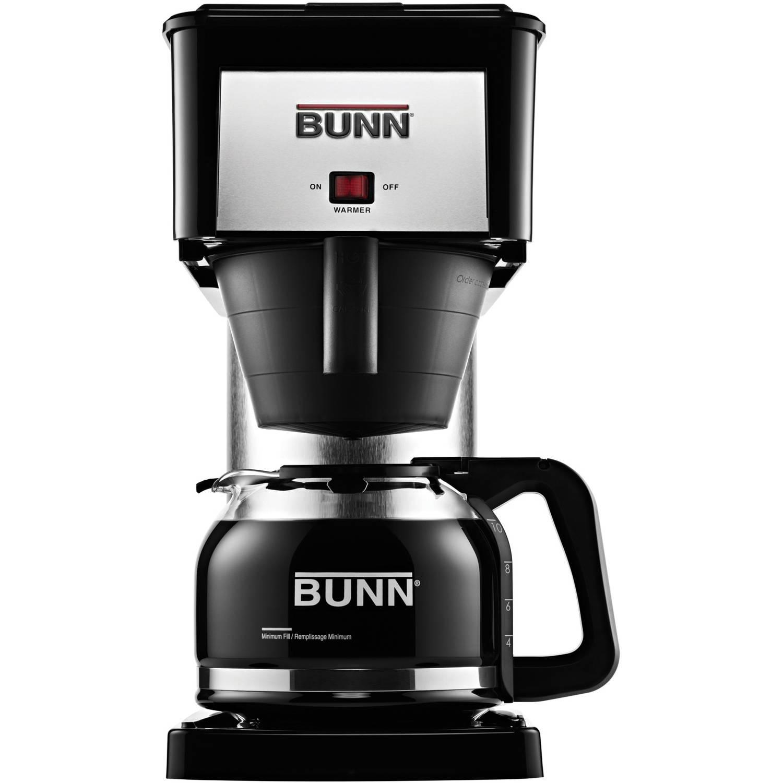 BUNN NHS Velocity Brew 10 Cup Home Coffee Brewer Black