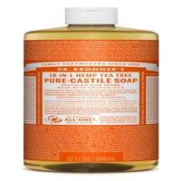 Dr. Bronner's Tea Tree Pure-Castile Liquid Soap - 32 oz