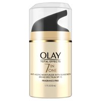 Olay Total Effects Anti-Aging Face Moisturizer with SPF 15, Fragrance-Free 1.7 fl oz