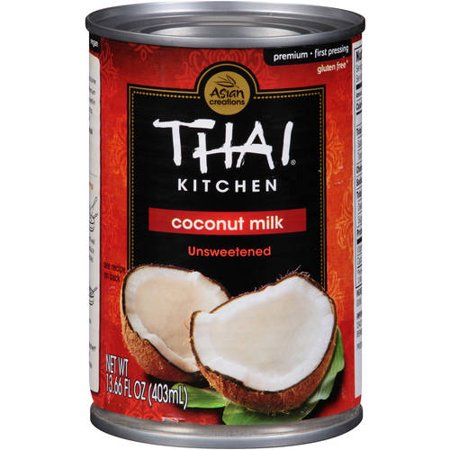 Thai Kitchen Unsweetened Coconut Milk Coconut Milk, 14 fl oz (thai kitchen organic coconut milk)