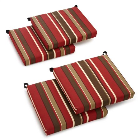 Cushion for Outdoor Chair - Set of 4 (Monserrat Sangria) ()