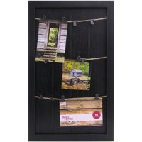 Better Homes and Gardens Marrone 12x20 Twine with Clips Collage Board