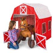Kid Trax Rideamals Barn Play Tent