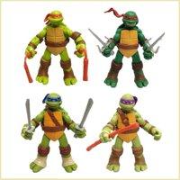 "Teenage Mutant Ninja Turtles Classic Collection TMNT 5"" Action Figures Toys 4PC"