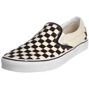 06e4b4b8ca38c4 Vans VN-0EYEBWW  Unisex Classic Checkerboard Skate Slip-On (4 D(