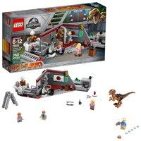LEGO Jurassic World Jurassic Park Velociraptor Chase