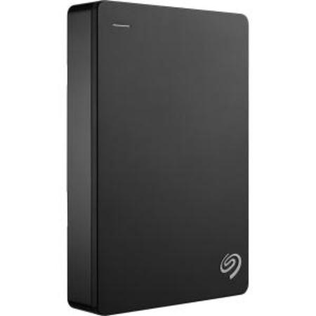 Mac External Computer Disk (Seagate Backup Plus Portable 4TB External Hard Drive HDD – Black USB 3.0 for PC Laptop and Mac, 2 Months Adobe CC Photography (STDR4000100))
