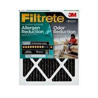 Filtrete 18x20x1, Allergen Plus Odor Reduction HVAC Furnace Air Filter, 1200 MPR, 1 Filter