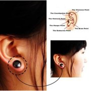 6c8b3ef43 Fashion Unisex Health Care Stainless Steel Round Circle Magnetic Stud  Earrings Non-piercing Clip on