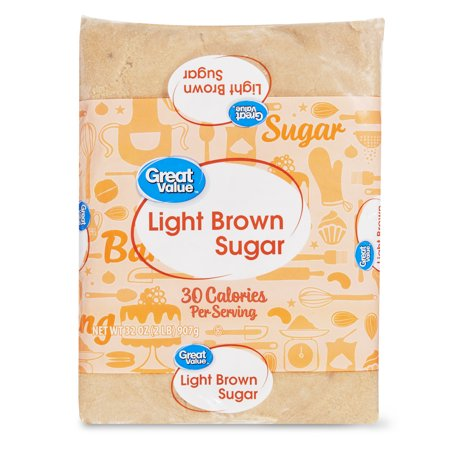 Constellation Sugar ((2 pack) Great Value Light Brown Sugar, 2 Lb )