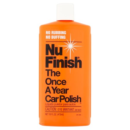 Nu Finish The Once A Year Car Polish, 16 fl oz (Nu Kote Color)