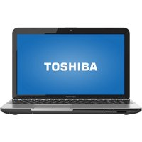 "Toshiba Mercury Silver 15.6"" Satellite L855S Laptop PC with Intel Core i3-2348M Processor and Windows 8 Operating System"