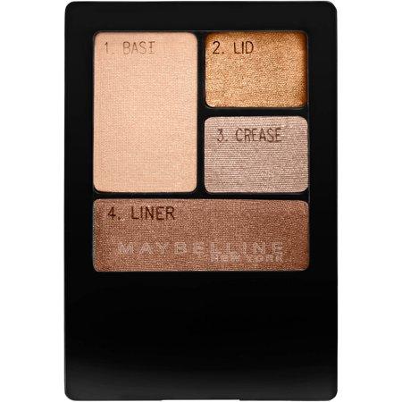 Maybelline Expert Wear Eyeshadow Quads, Chai Latte