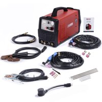 Amico Power CTS-200, 3-IN-1 Combo 50A-Plasma Cutter, 200A TIG-Torch & Stick Arc DC Welder 120/240V Dual Voltage New