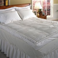 Luxury 5 in. Down Pillowtop Featherbed