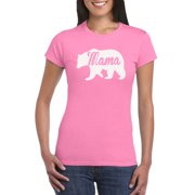 Mama Bear Graphic T Shirt Gift Idea For Women