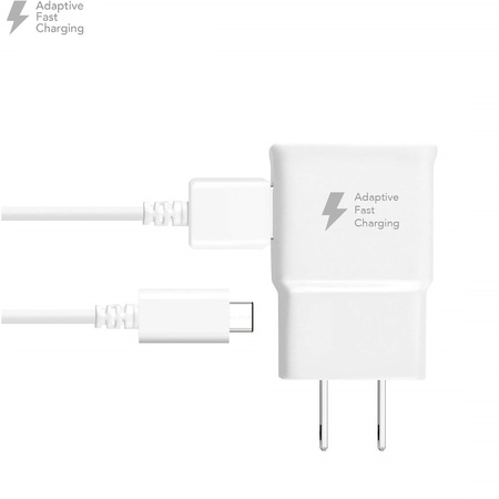 - For LG Stylo 4 Plus Quick Fast Wall Charger w/ USB-C Charging Power Cable White
