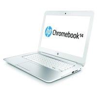 "Refurbished HP Chromebook 14 G1 14"" Celeron 2955U 4 GB RAM 16 GB SSD (White)"