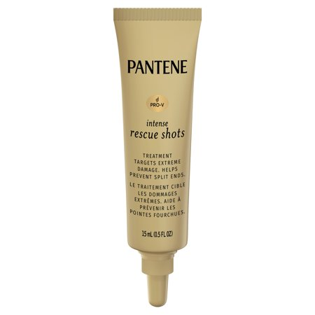 Pantene Pro-V Intense Rescue Shots Hair Ampoules for Intensive Repair of Damaged Hair, 0.5 fl oz (Pack of 3)