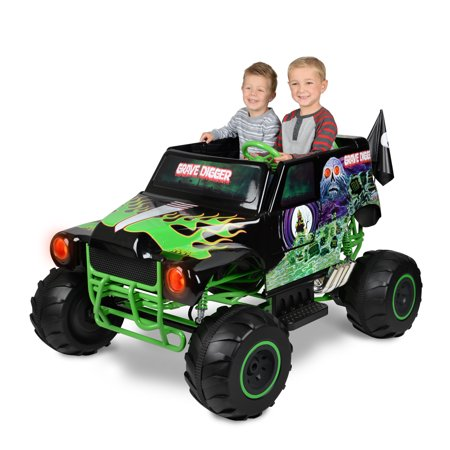 Monster Jam Grave Digger 24 Volt Battery Powered Ride On Walmart Com