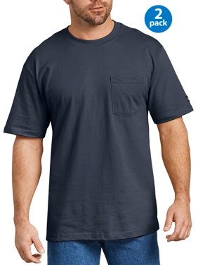 Men's Short Sleeve Heavyweight Pocket T-Shirt, 2-Pack