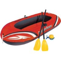 Bestway 77x45 Inches HydroForce Inflatable Raft Set with Oars and Pump   61062E