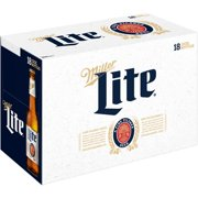 Miller Lite Beer, 18 pack, 12 fl oz