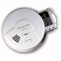 USI Electric 5304 Hardwired Ionization Smoke and Fire Alarm with Battery Backup