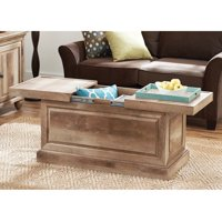 Better Homes and Gardens Crossmill Collection Coffee Table, Weathered Finish