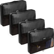 26a17c76e6 Baglane TechLife Nylon Luggage Travel Packing Cube Bags -4pc Set (Large)
