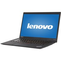 "Refurbished Lenovo Ultrabook X1 Carbon 14"" Laptop, Windows 10 Pro, Intel Core i5-3337U Processor, 4GB RAM, 128GB Solid State Drive"