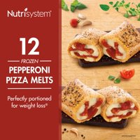 Nutrisystem Frozen Pepperoni Pizza Lunch Melt, 3.8 oz, 12 Ct