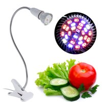 EECOO Led Grow Light,28W 28 LED Hydroponic Plant Grow Light Indoor Garden Home Flexible Desk Clamp Lamp New,Plant Grow Light