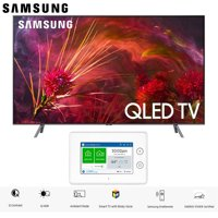 """Samsung QN55Q8FNB QN55Q8 QN55Q8F 55Q8F Q8 Series 55"""" Q8FN QLED Smart 4K UHD TV (2018 Model) with SmartThings ADT Home Security Starter Kit - (F-ADT-STR-KT-1)"""