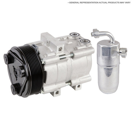 - AC Compressor w/ A/C Drier For Volvo S40 C30 V50 C70