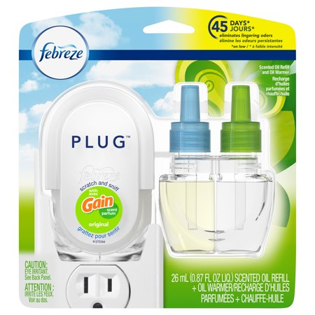 Febreze Plug Scented Oil Refill and Oil Warmer with Gain Scent, Original, 0.87 fl oz Best Vst Plug Ins