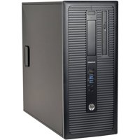 Refurbished HP EliteDesk 800 G1-T Desktop PC with Intel Core i5-4570 Processor, 16GB Memory, 2TB Hard Drive and Windows 10 Pro (Monitor Not Included)
