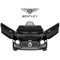 Best Choice Products 12V Kids Licensed Bentley EXP 12 Ride-On Car w/ Remote Control, Foot Pedal, 2 Speeds, Headlights, AUX - Black
