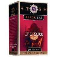 (3 Boxes) Stash Tea Chai Spice Black Tea, 20 Ct, 1.3 Oz