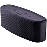 Blackweb Premium Bluetooth Dual Passive Subwoofers Portable Speaker