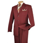 Men's 3 Button Single Breasted Dress Suit , 14 Colors
