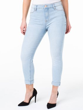 Juniors' Sculpt Cropped Skinny Jeans