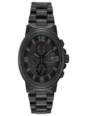 Eco-Drive NightHawk Chronograph Mens Watch CA0295-58E