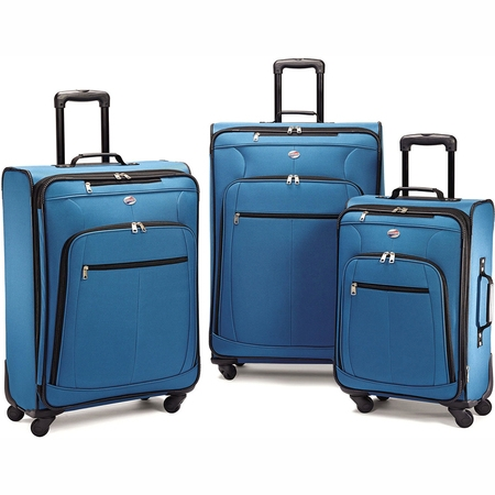 American Tourister POP Plus 3 Piece Softside Luggage Set American Tourister Luggage Set